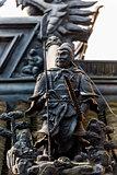 soldier statue gucheng park shanghai china