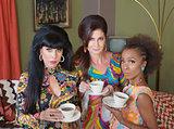 Three Serious Tea Drinkers