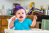 Baby Has a Tantrum