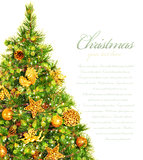 Christmas tree border