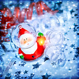 Magic Santa decoration