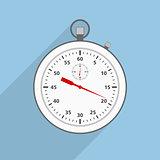 Flat Stopwatch