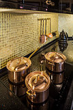 kitchen copper utensils