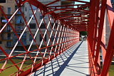 red Bridge  Inside view