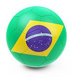 the soccer ball
