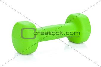 Green dumbell