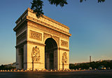 Arc de Triomphe Paris city