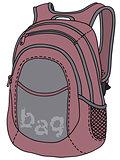Violet kit bag