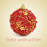 frohe weihnachten, merry christmas in german