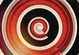 Circle Vintage Pattern Background