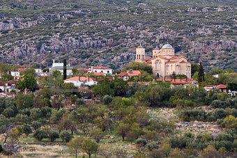Greek Mainland Village