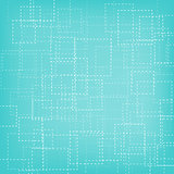 Abstract square outline background
