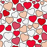 Valentines day seamless background