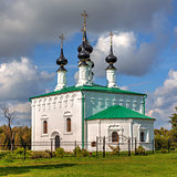 Suzdal. Entry into Jerusalem church