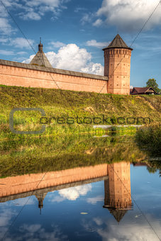 Monastery of Saint Euthymius. Suzdal, Russia