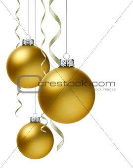 Christmas Ball & Ribbon