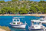 Idyllic tourist destination beach in Croatia