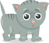 kitten character cartoon illustration