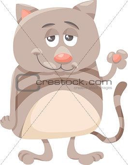cat character cartoon illustration