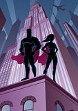 Superhero Couple 5
