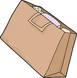 Single Grocery Bag