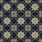 Seamless pattern in black and beige colors