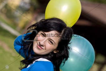 Beauty in balloons