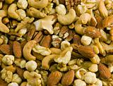 Mixed Nuts Background