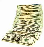 100 and Twenty Dollar Bills