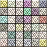 Glossy square ceramic tiles