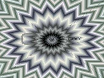 Gray star pattern