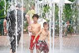 Boys in the Fountains
