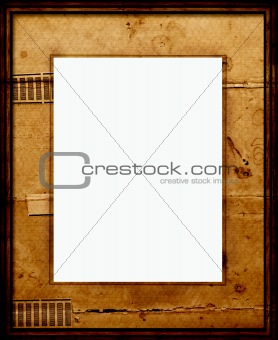 Old Picture Frame with mount
