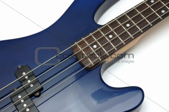 Bass Guitar Closeup 1
