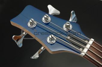 Bass Guitar Closeup 4