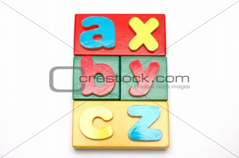 Blocks And Alphabets 1