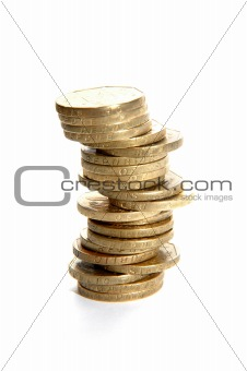 Single stack of coins