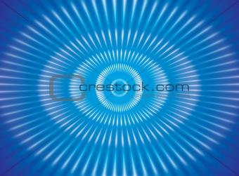 blue burst effects