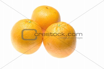 Three orange