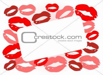 frame from kisses