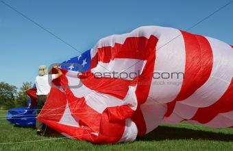 American Flag Kite