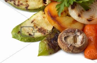 grilled vegetables dish