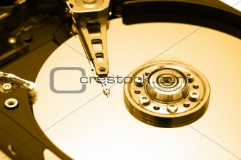 Hard Disk Closeup 1
