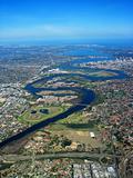 Swan River Aerial View