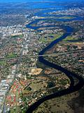 Swan River Aerial View 2