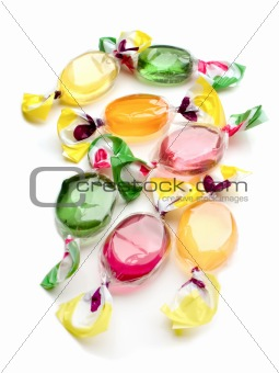 Candy multi colored