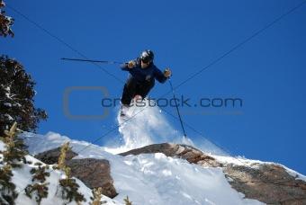 free skier