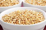 Bowls of barley
