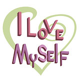 The word I love myself