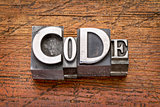 code word in  metal type